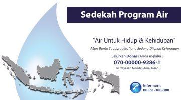 Sedekah Program Air