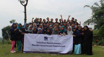 Pelatihan Kerelawanan, Relawan
