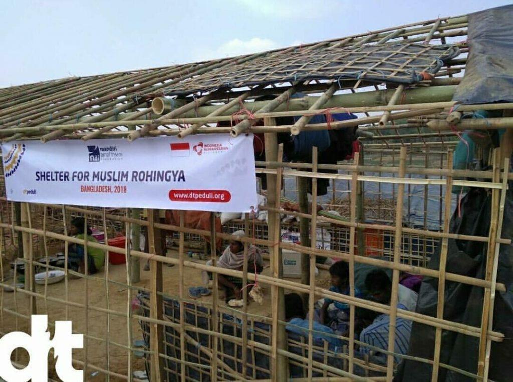 Shelter untuk Muslim Rohingya