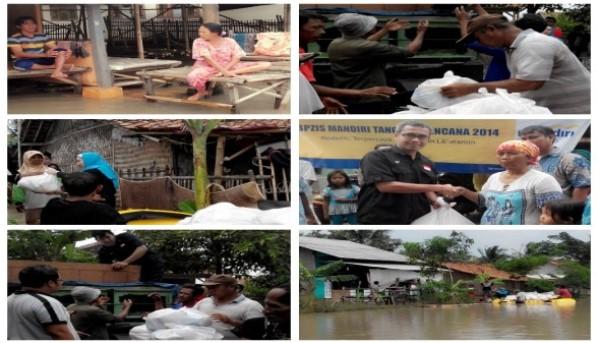 BPZIS Mandiri Peduli KOrban banjir Part 1
