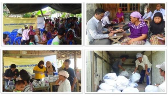 BPZIS Peduli Korban Banjir Pandeglang