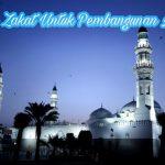 zakat untuk pembangunan masjid, hukum zakat untuk pembangunan masjid