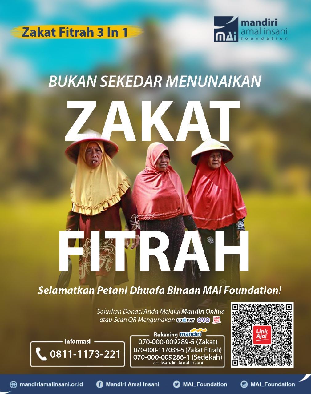Bukan Sekedar Zakat Fitrah - Badan Amil Zakat - MAI Foundation